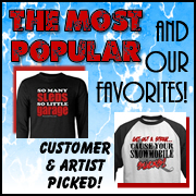 Must Have Snowmobile T-shirts & Gifts