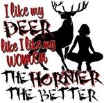 Deer & Women
