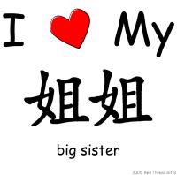 I Love My Jie Jie (Big Sister)