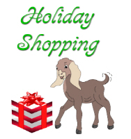 Goat Holiday Shopping
