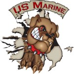 US Marine Devil Dog