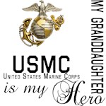 USMC My Granddaughter  My Hero