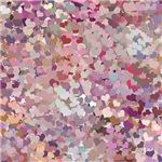 Pink Confetti Hearts