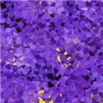 Purple Confetti Hearts