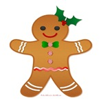 Gingerbread Man Girl
