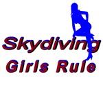 Skydiving Girls Rule