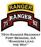 75th Ranger tab Motto