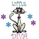 Little Diva Cat Shirts