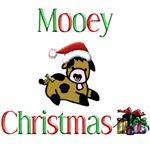 Mooey Christmas Baby Cow