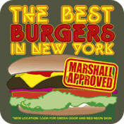 Marshall Approved Burgers