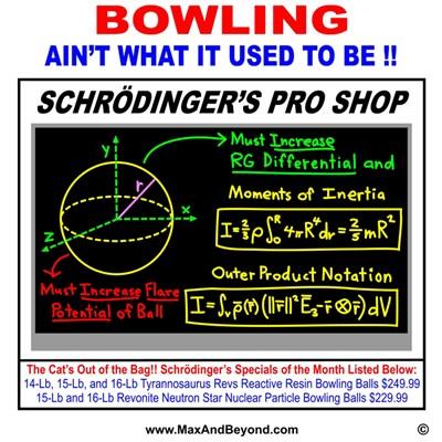 Schrödinger's Pro Shop
