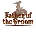 Father of the Groom Western T-Shirts