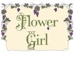 Flower Girl Vineyard T-Shirts