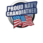 Navy Grandfather T-Shirts