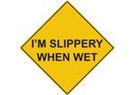 I'm Slippery when Wet