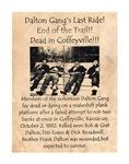 Dalton Gang's Last Ride