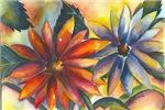 Bright Colored Florals