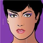 Pop Art Girl Sonja