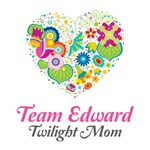 Twilight Mom Floral Heart