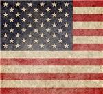 US Faded Flag