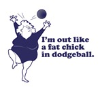 Fat Chick In Dodgeball