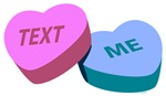 Text Me Candy Hearts