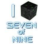 I Borg Seven of Nine