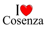 I Love (Heart) Cosenza, Italy