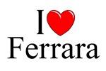 I Love (Heart) Ferrara, Italy