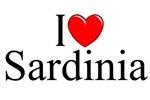 I Love (Heart) Sardinia, Italy