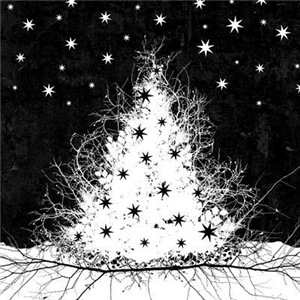 Gothic Branches Christmas Tree