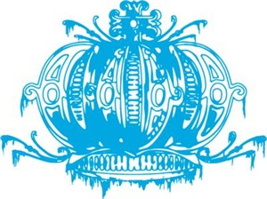 Blue Gothic Crown