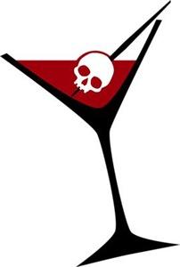 Gothic Skull Martini