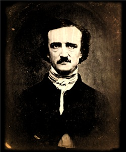 Vintage Poe Portrait