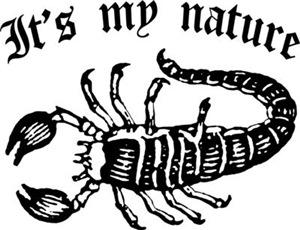 Scorpion It's My Nature