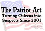Liberty: Patriot Act Backfires