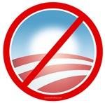 Anti-Obama No Bama Circle
