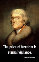 Jefferson, The Price of Freedom