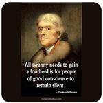Jefferson: All Tyranny Needs