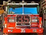 Big Red Fire Truck (II)