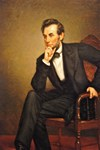 Famous Paintings: Young Abraham Lincoln