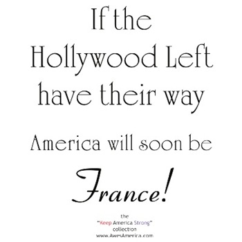 If the Hollywood Left have their way...