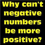 Negative Numbers