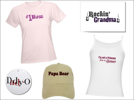 MOTHER'S DAY & FATHER'S DAY T-SHIRTS AND GIFTS