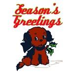 Retro Kitsch Holiday Pup