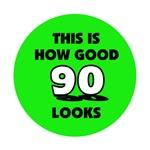 90th Birthday - Happy Birthday