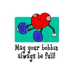 May Your Bobbin Be Full - Sewing