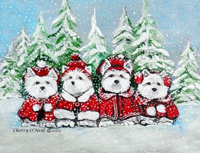 Westie Winter Holiday