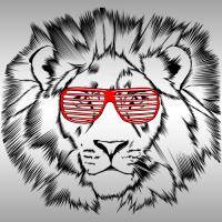 Funky Lion