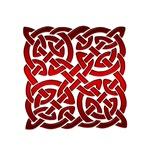 Celtic Knot Maze Red